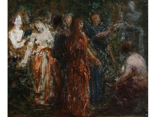 Henri Fantin-Latour (French, 1836-1904) To Robert Schumann