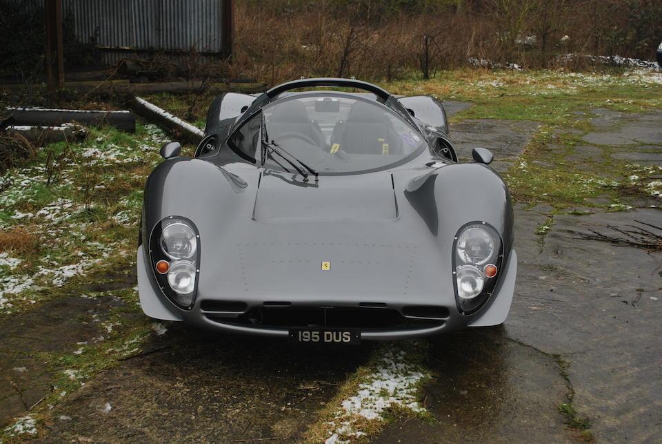 2005 Foreman Mk4 V12 Spyder  Chassis no. NFMK4BFEP00304041 Engine no. 24797