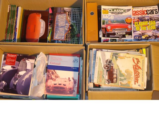 A quantity of assorted motoring magazines,