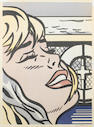 Roy Lichtenstein, Shipboard girl (faded)