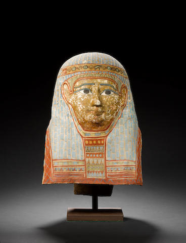 Egyptian Cartonnage mask