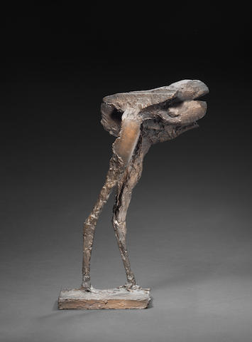 Dame Elisabeth Frink R.A. (British, 1930-1993) Winged Beast II 36.8 cm. (14 1/2 in.) high (excluding base)