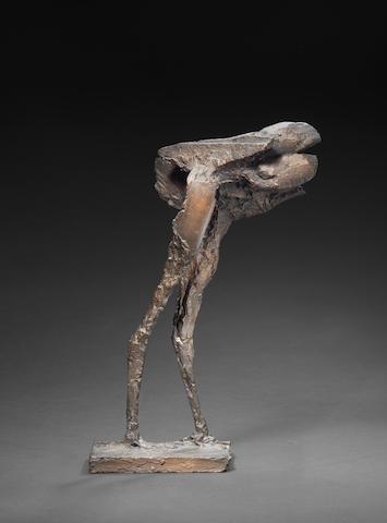 (n/a) Dame Elisabeth Frink R.A. (British, 1930-1993) Winged Beast II 36.8 cm. (14 1/2 in.) high (excluding base)