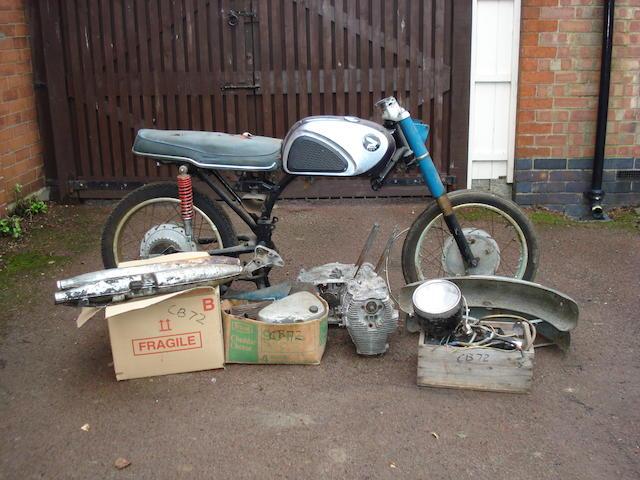 Honda CB72,