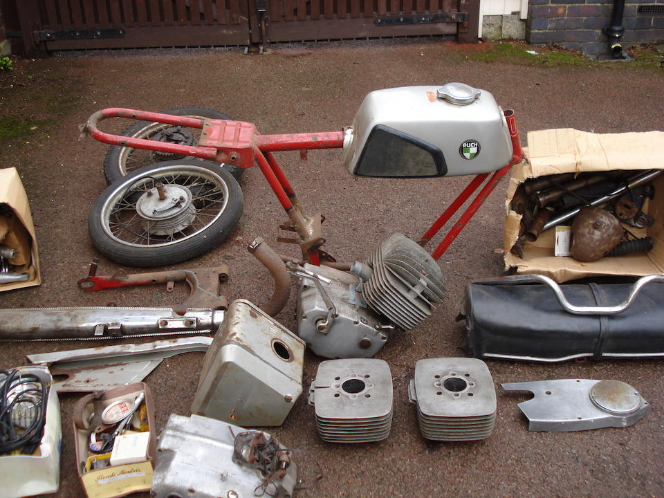 1968 Puch M125 Project Frame no. 3606288 Engine no. 3606288