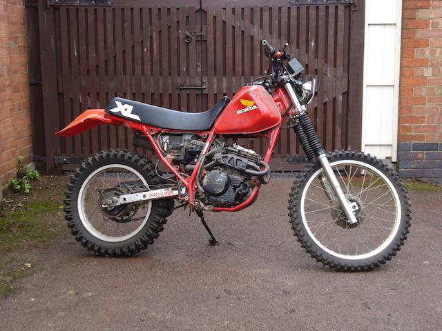 Honda XL250E,