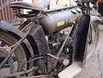 1924 BSA 250cc Model B 'Round Tank' Frame no. B 2058 Engine no. B 2210