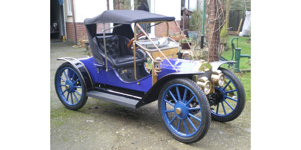 A half scale Ford Model T childs car,