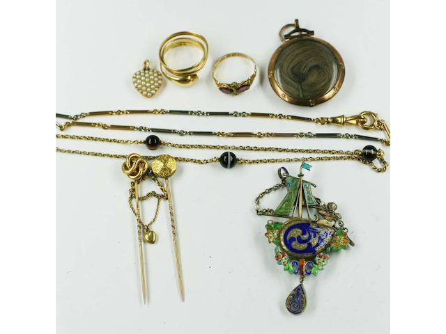 A collection antique jewellery,