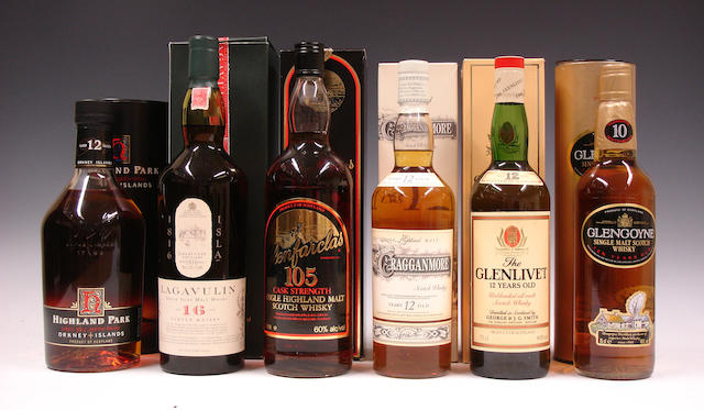 Mixed malts comprising: (6)