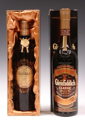 Glenfiddich Excellence-18 year oldGlenfiddich Classic