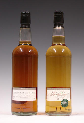 Linlithgow-24 year old-1975Craigellachie-13 year old-1984