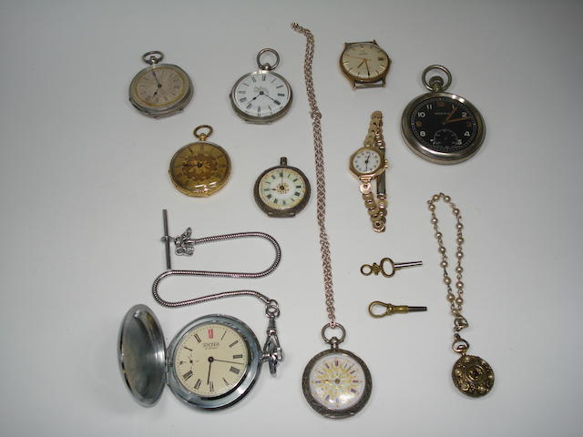 A collection of watches (qty)