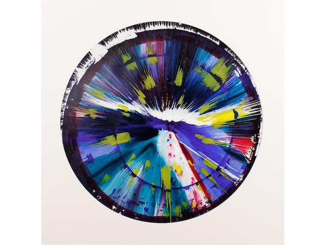 Damien Hirst (British, born 1965) Spin picture