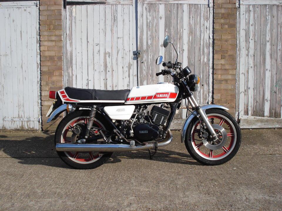 Bonhams : 1976 Yamaha RD250 Frame no  1A2 100279 Engine no