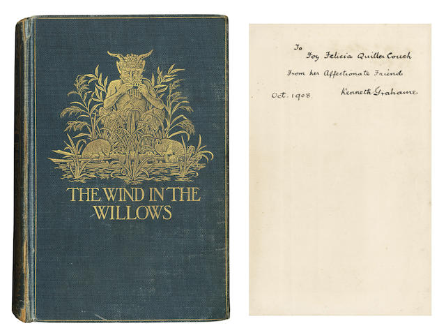 GRAHAME (KENNETH) The Wind in the Willows, FIRST EDITION, AUTHOR'S PRESENTATION COPY
