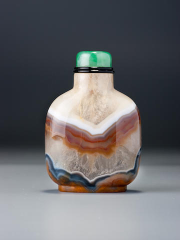 A quartz snuff bottle 1740–1860