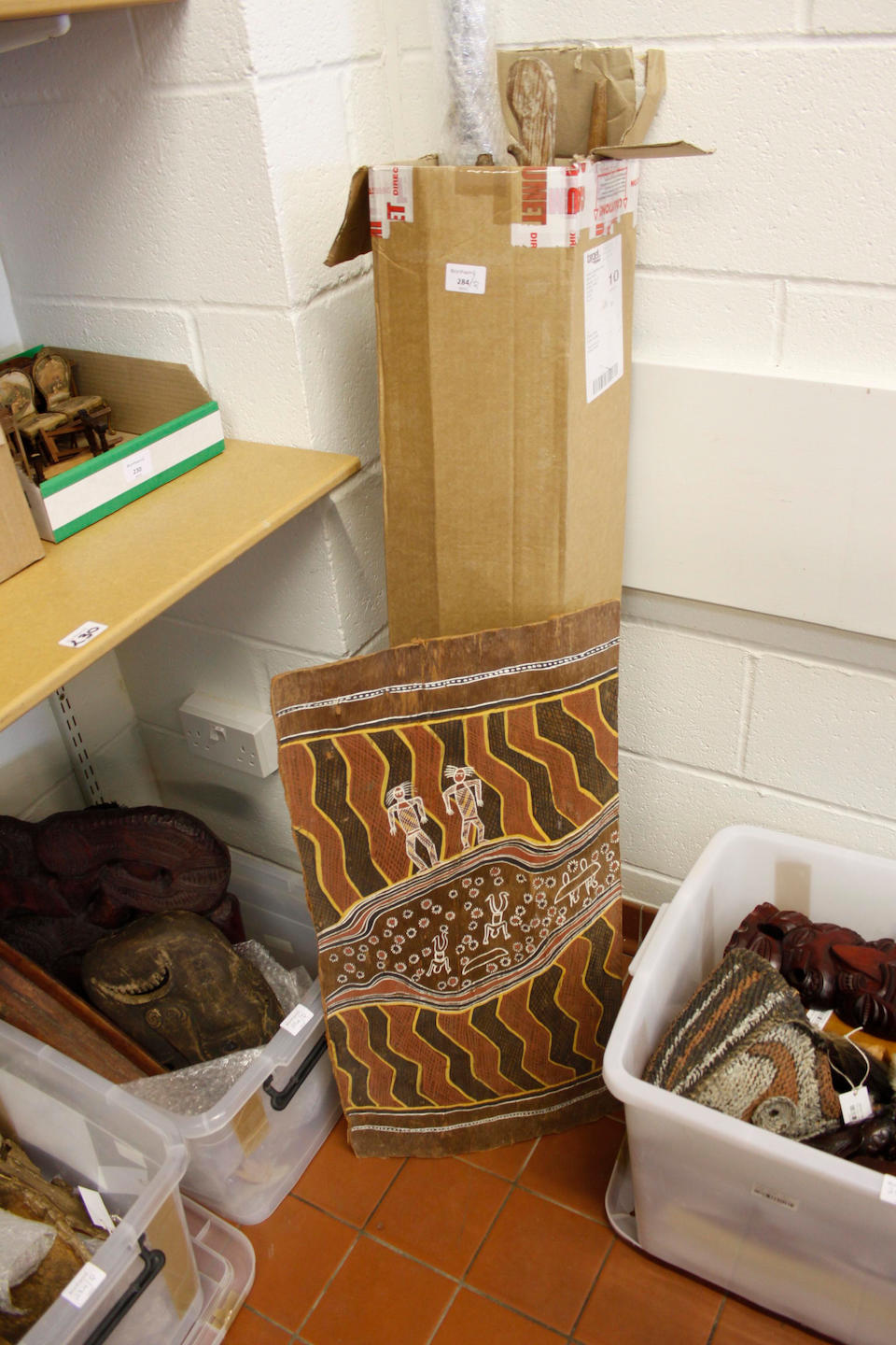 A large quantity of assorted Tribal curios and souvenirs lot