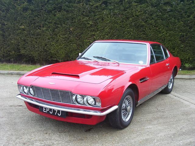 1971 Aston Martin DBS,