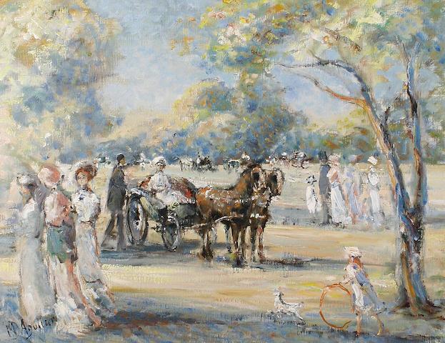 Baron Michael D'Aguilar (20th Century) 'Dans le Bois'