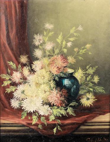 Gustave de Smet (Belgian, 1877-1943) Bouquet de fleurs