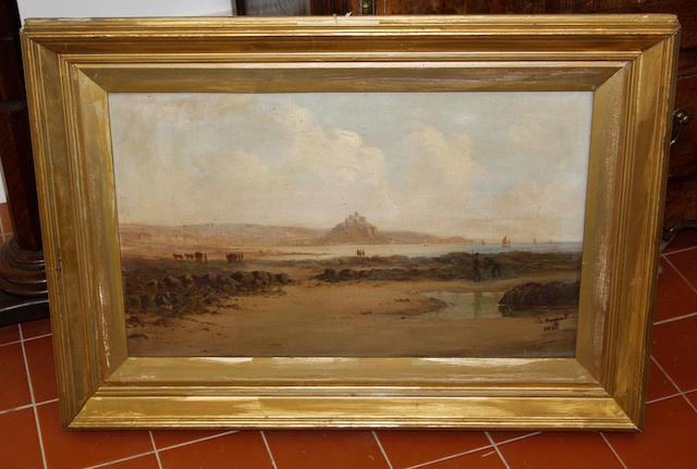 G. Shaw (19th Century) Moorland scene