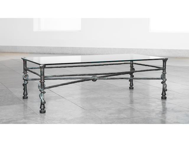 Diego Giacometti (Swiss, 1902-1985) 'Table Torsade' circa 1965