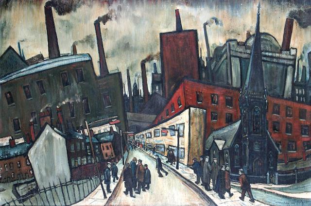 William Turner (Chorlton-on-Medlock 1920) 'The City',