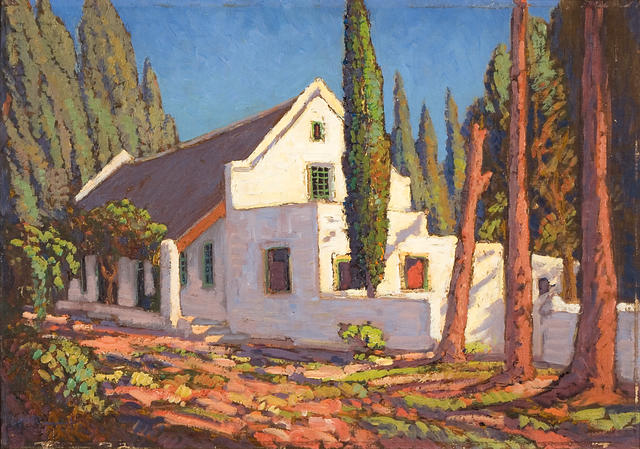 Jacob Hendrik Pierneef (South African, 1886-1957) Cape Farm