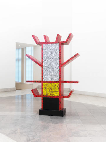 Ettore Sottsass for  Memphis a 'Casablanca' cabinet, designed 1981 plastic laminate over wooden frame