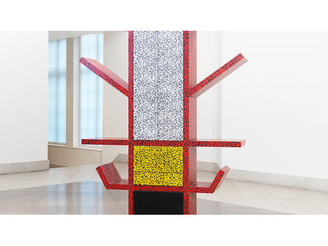 Ettore Sottsass for Memphis a 'Casablanca' cabinet, designed 1981 plastic laminate over a wood frame
