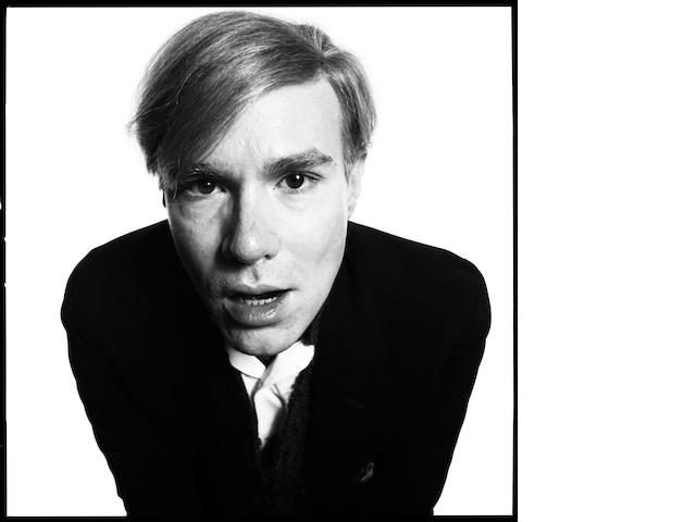 Andy Warhol, 1965. Gelatin silver print. Printed 2009. Edition of 10.