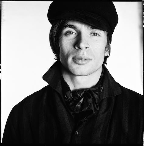 Rudolf Nureyev, 1965. Platinum print. Printed 2009. Edition of 12. Paper 73.7 x 56.6cm (29 x 22in), image 48.3 x 48.3cm (19 x 19in).