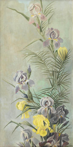 Frans David Oerder (Dutch, 1867-1944) Irises