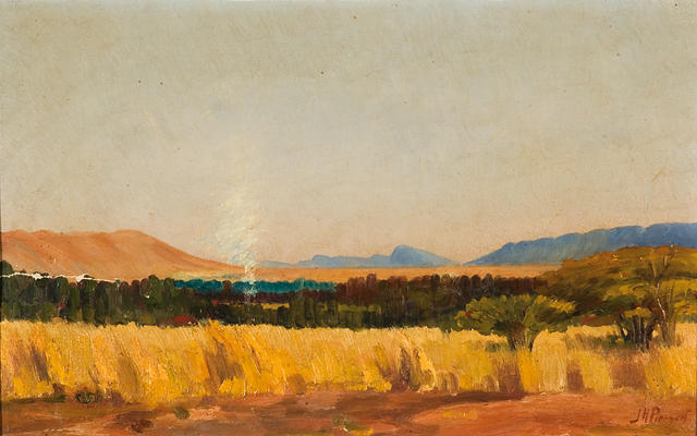 Jacob Hendrik Pierneef (South African, 1886-1957) The Waterberg