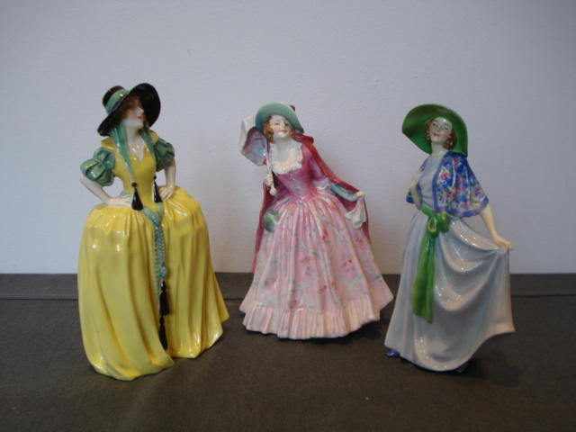 Doulton Burslem Three early Figurines