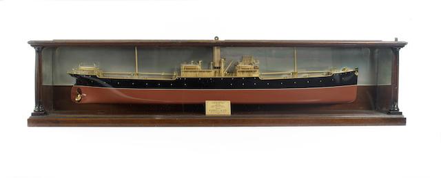 """Half Builders Ships model """"Yoserio""""."""