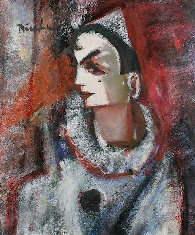 Carl Adolph Büchner (South African, 1921-2003) Harlequin