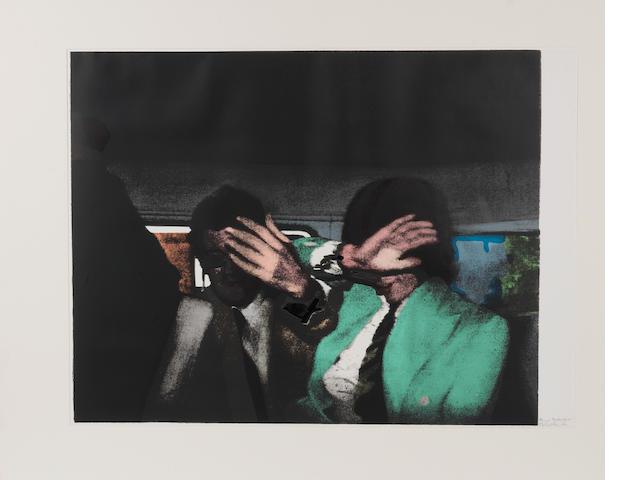 Richard Hamilton (British, born 1922) 'The Release', 1972