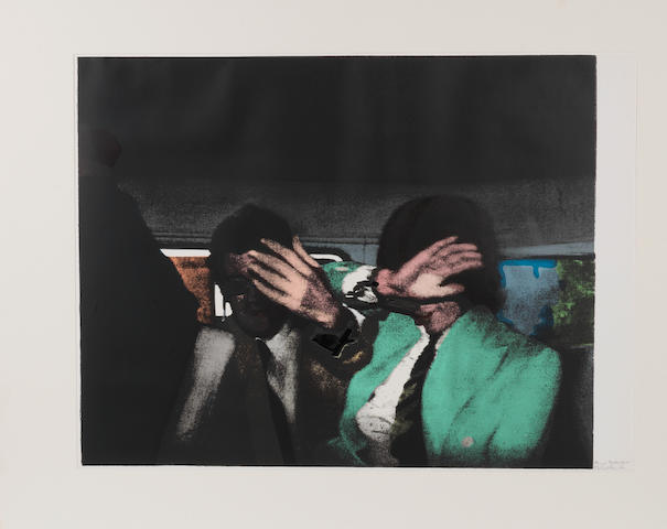 Richard Hamilton (British, born 1922) 'The Release', 1972