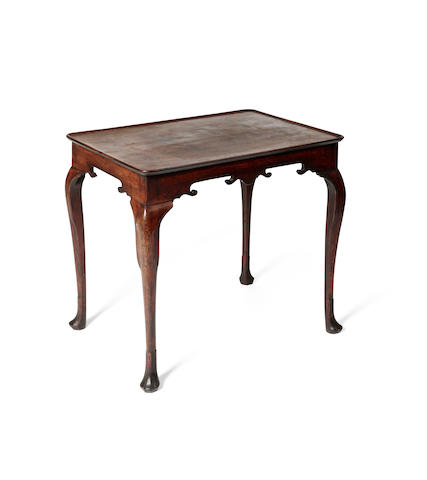An Irish George III mahogany silver table