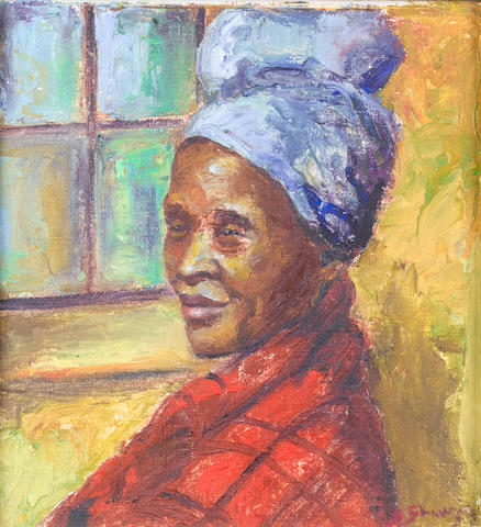 Stella Shawzin (South African, born 1923) Herero woman