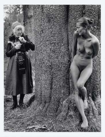 Judy Dater, Imogen Cunningham & Twinka, 1974