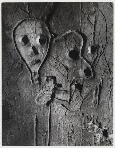 Brassaï (Gyula Halász) (Hungarian/French, 1899-1984) Graffiti, c. 1960