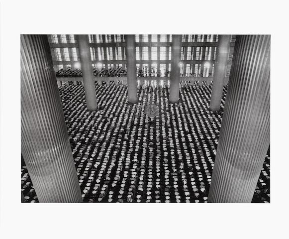 Sebastiao Salgado, Mosque Jakarta, 1996