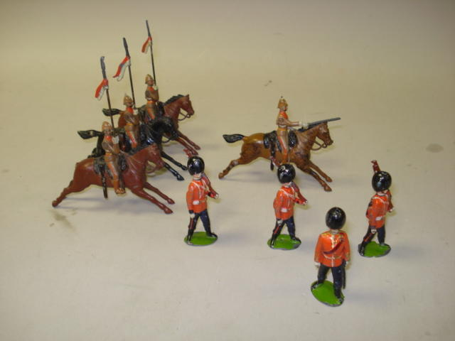 Britains set 49, South Australian Lancers 8