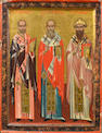Russian, mid 19th century The Three Founding Fathers of Russia<br>