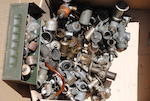 A large quantity of carburettors and carburettor spares,