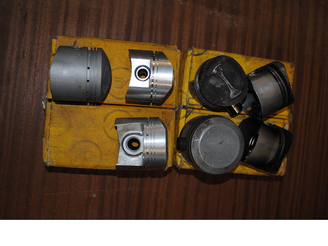 Quantity of NOS and used pistons,