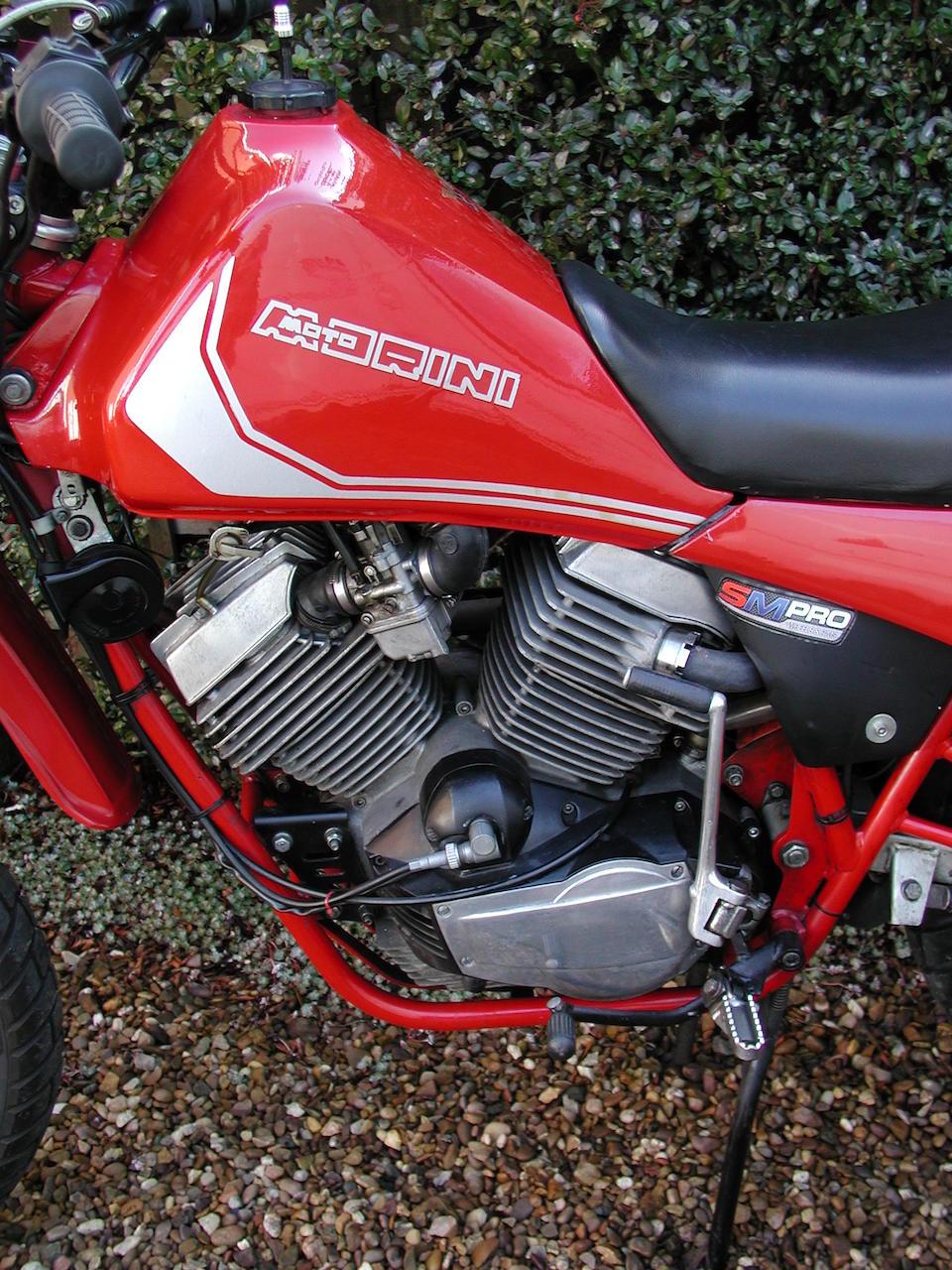 1982 Moto Morini 479cc Camel Enduro Frame no. 500R 03355